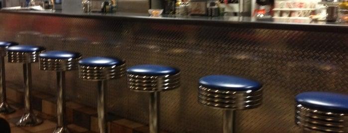 Blackstone Family Restaurant is one of Tempat yang Disukai Kristin.