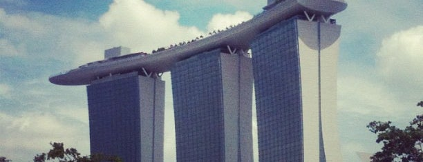 Marina Bay Sands Hotel is one of Singapore.