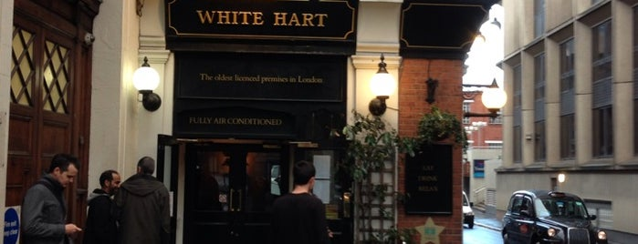 The White Hart is one of Good Beer Pubs.