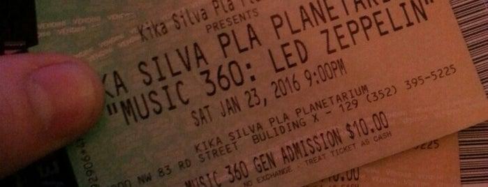 Kika Silva Pla Planetarium is one of สถานที่ที่บันทึกไว้ของ KaHee.
