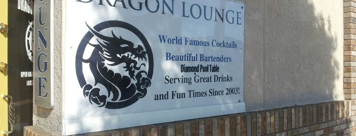 Dragon Lounge is one of Bars in San Francisco to watch NFL SUNDAY TICKET™.