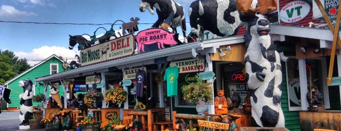 Big Moose Deli & Country Store is one of NE road trip.