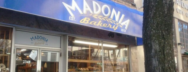 Madonia Bakery is one of Bronx Italian specialty stores.