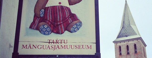 Tartu Mänguasjamuuseum is one of Museums & galleries.