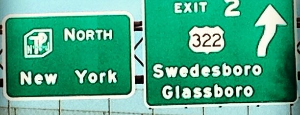 NJ Turnpike at Exit 2 is one of New Jersey highways and crossings.
