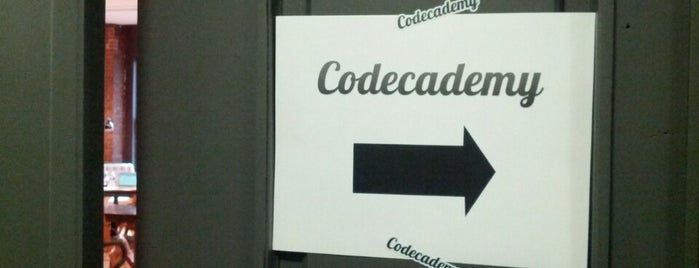 Codecademy HQ is one of NYC Work Spaces & Tech Startups.