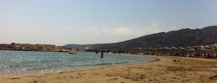 Manganari Beach is one of Ios.