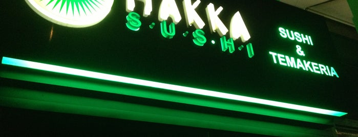 Hakka Sushi is one of SP - Léo e Gabi.