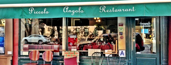 Piccolo Angolo is one of Must try restaurants.