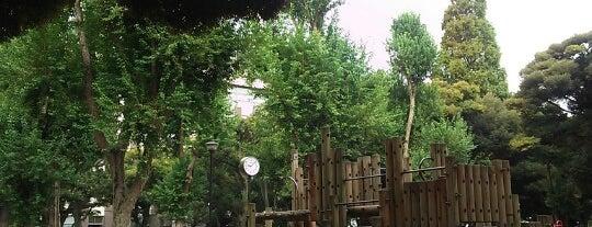 Wakabayashi Park is one of せたがや百景 100 famous views of Setagaya.