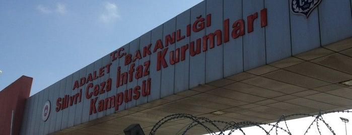 Silivri Açık Ceza İnfaz Kurumu is one of Hüseyin: сохраненные места.