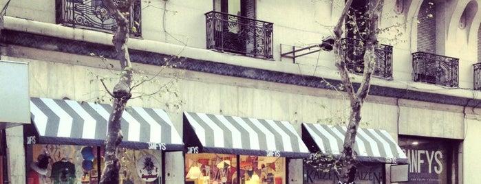 Av SanFyS is one of Montevideo.