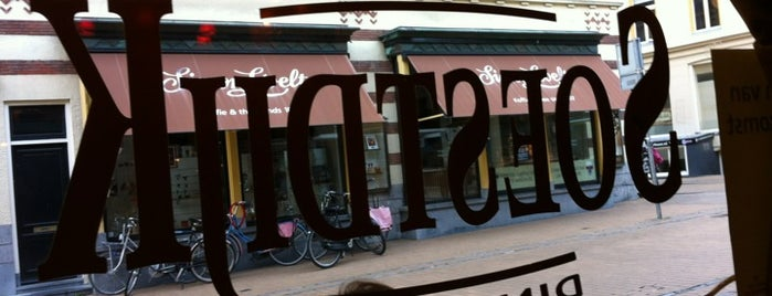 Dinercafe Soestdijk is one of Café Top-100 2015.