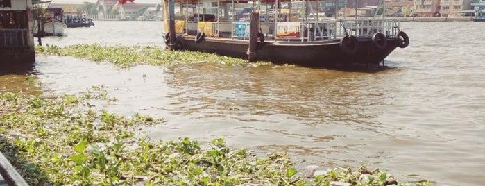 Phra Chan Pier is one of Around Bangkok | ตะลอนทัวร์รอบกรุงฯ.