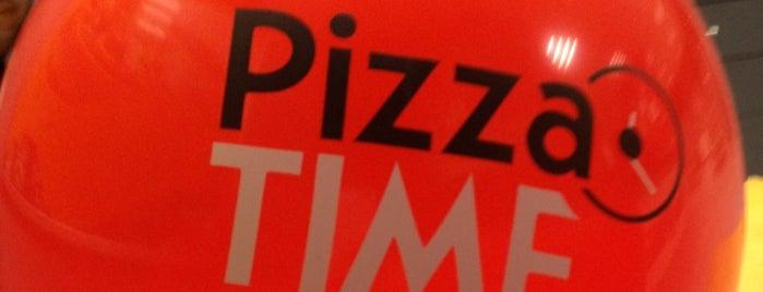 Pizza Time is one of Locais curtidos por Erkan.