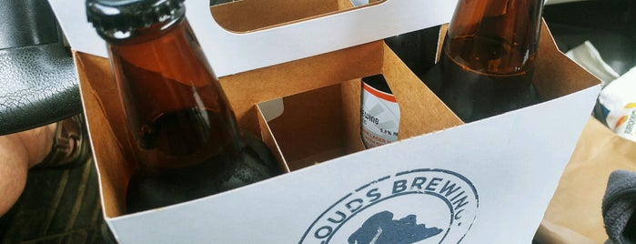 Clouds Brewery and Taproom is one of Breweries or Bust 3.