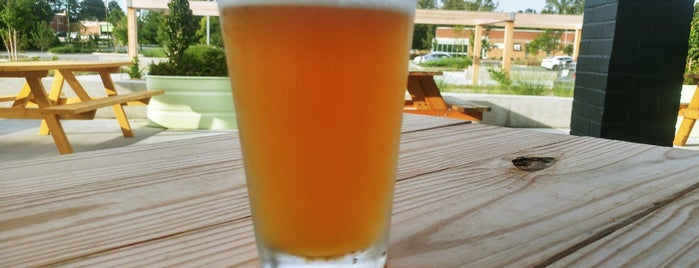 Mordecai Beverage Company is one of Must-visit Breweries in Raleigh.