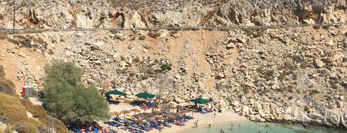 Γλάροι Beach Bar is one of atina zakhintos.