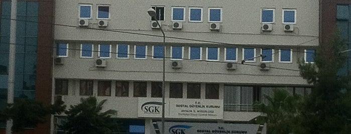 SGK Antalya İl Müdürlüğü is one of Adalet 님이 좋아한 장소.