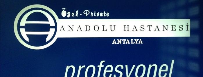 Anadolu Hastanesi is one of Tempat yang Disukai 🌜🌟hakan🌟🌛.