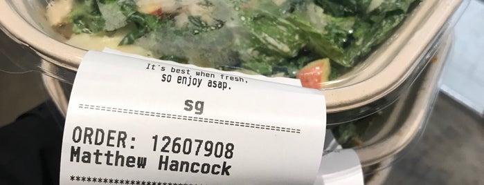 sweetgreen is one of Philly.