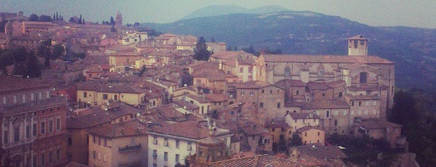 Perugia is one of EUROPE.