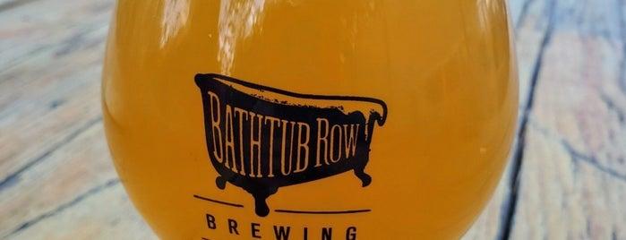 Bathtub Row Brewing is one of Tempat yang Disukai Jose.