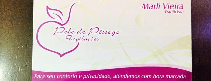Pele de Pêssego Depilação is one of สถานที่ที่ Fernando ถูกใจ.