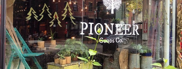 Pioneer Goods Co. is one of [To-do] Boston.