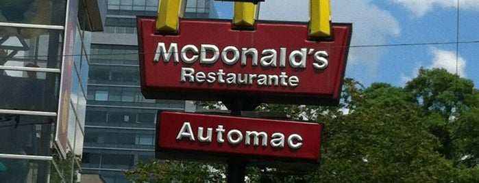 McDonald's is one of FooD & Drink.