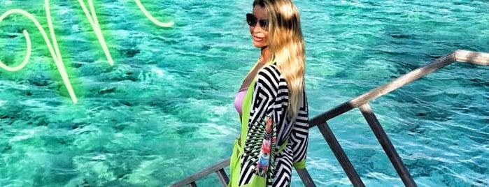 Water Villa ~ Paradise Island Resort & SPA is one of Lugares favoritos de Nese.