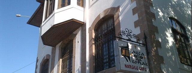 Akça Konak Nargile Café is one of สถานที่ที่ 😎😎😎 ถูกใจ.