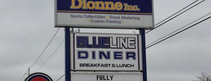 Blueline Diner is one of Niagra Falls.