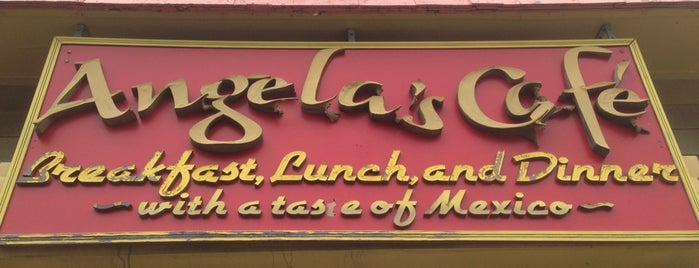 Angela's Café is one of Boston City Guide.