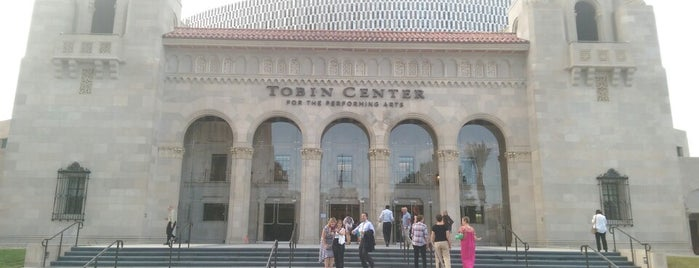 Tobin Center for the Performing Arts is one of Texas trip.