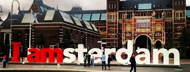 Rijksmuseum is one of Amsterdam.