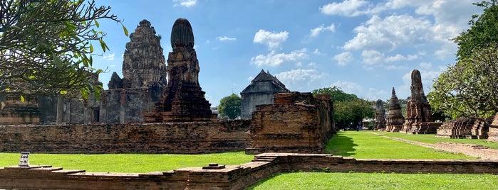 Wat Phra Si Maha That is one of ลพบุรี สระบุรี.