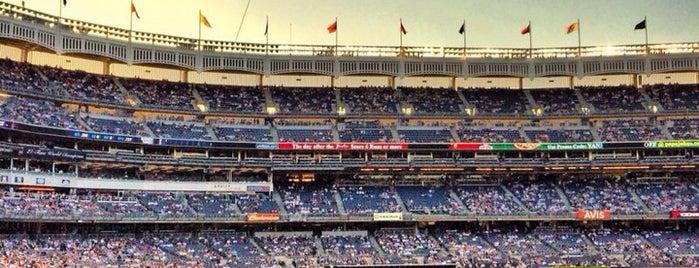 Yankee Stadium is one of NYC.