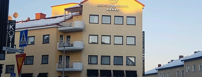 Arctic Light Hotel is one of Finland.