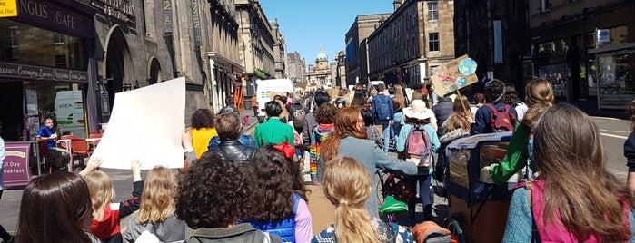 Old Town is one of Edinburgh.