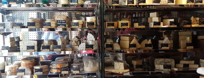 I.J. Mellis Cheesemonger is one of Edinburgh.