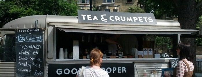Good & Proper Tea is one of London : Coffee & Breakfast.