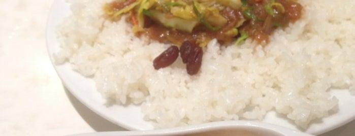 炒伽哩 インド式チャオカリー 汐留店 is one of カレーが好き☆*:.。. o(≧▽≦)o .。.:*☆.