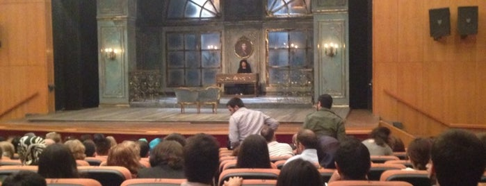 Devlet Tiyatrosu Necip Fazıl Kısakürek Sahnesi is one of Locais curtidos por UFuK•ॐ.