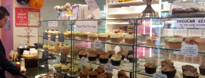 The Cupcake Bakehouse is one of London.