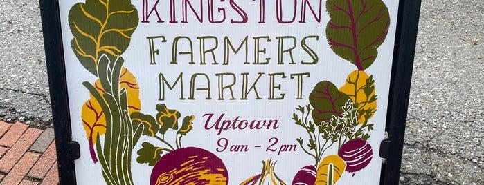 Kingston Farmers Market is one of Kingston.