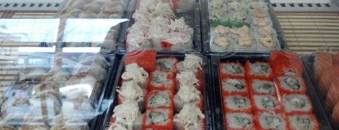 Sushi Buffet is one of Lieux qui ont plu à Olga.