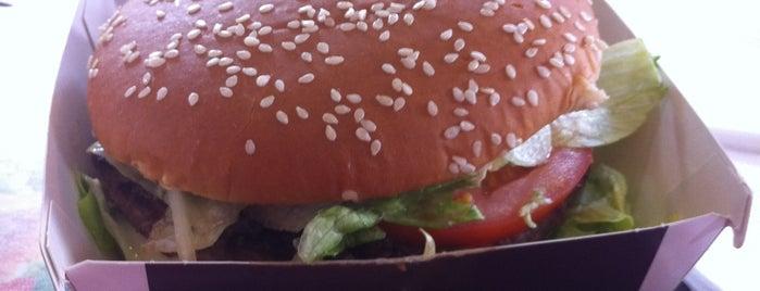 McDonald's is one of Anna : понравившиеся места.