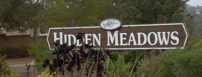 Hidden Meadows is one of Tempat yang Disukai John.