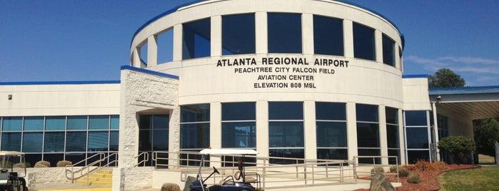 Peachtree Falcon Field Airport KFFC is one of TOMORROWWORLD U.S.A. 2013.